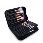 Makeup Brush Lether Bag
