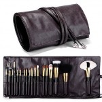 Makeup Brush Rolling Lether Case