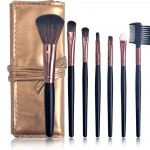 Daily Makeup Brush Set with Lether Bag