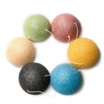 Konjac facial washing sponge