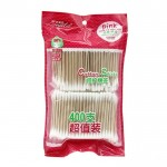 Hot Sale Bamboo Stick Cotton Swab 400 Buds