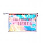 PVC Glitter Cosmetic Bag