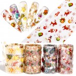 Nail Art Transfer Foil Stickers Paper