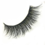 3D Curl pretty fiber strip eyelashes 25mm