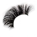Natural curl beautiful horse hair eyelashes 25mm
