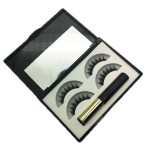 Newest Magnetic eyelashes kit with 2 pairs