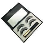 Newest Magnetic eyelashes kit with 2 pairs