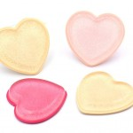 Sweet-heart Silicon Sponge Applicator