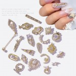 Art Rhinestones Nail Decoration