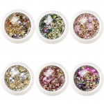 Mixed Nail Art Rhinestones