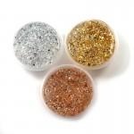 Glitter powder galaxy fluffy slime