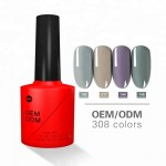Soak off uv gel manicure
