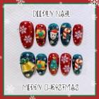 Christmas/Halloween Wear Nail Art  Christmas Gift